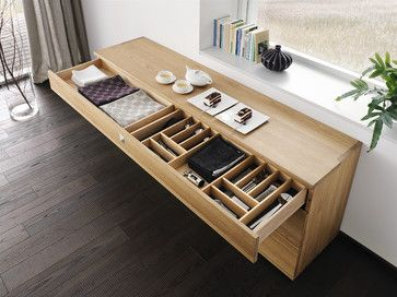 Nox Contemporary Beech Sideboard - modern - buffets and sideboards - london - Wharfside