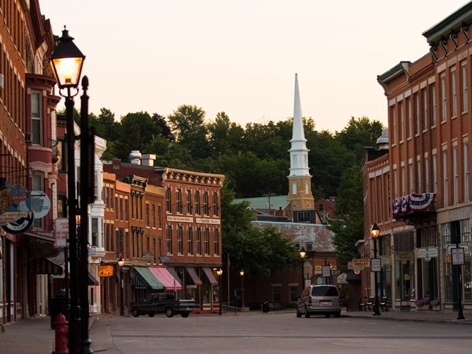 Most Idyllic And Historic Main Streets Across The Usa