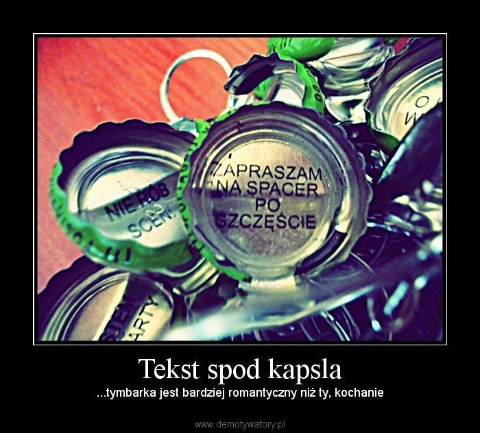 Humor.pl - Tekst spod kapsla