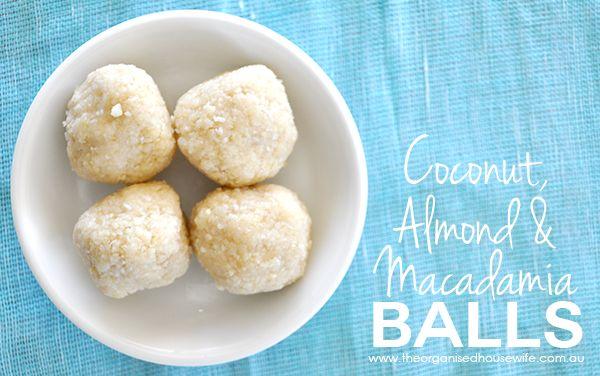 {Thermomix} Coconut, Almond & Macadamia Balls