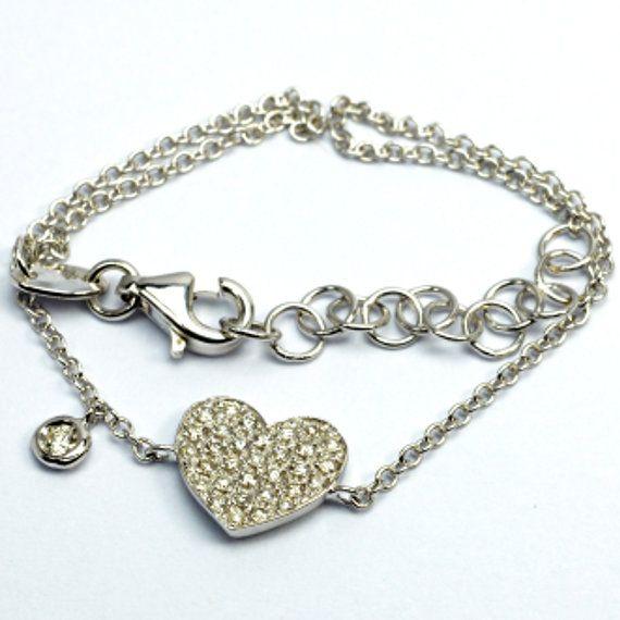 Bracciale in oro 18 k con diamanti naturali #18k #ororosa #orogiallo #orobianco #carinigioielli #gioielleria #gioielli #diamanti #brillanti #handmade