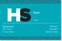 monogram Standaard visitekaartjes