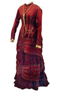 c.1880 Alice Jemima (G.Cummins 2010) day dress