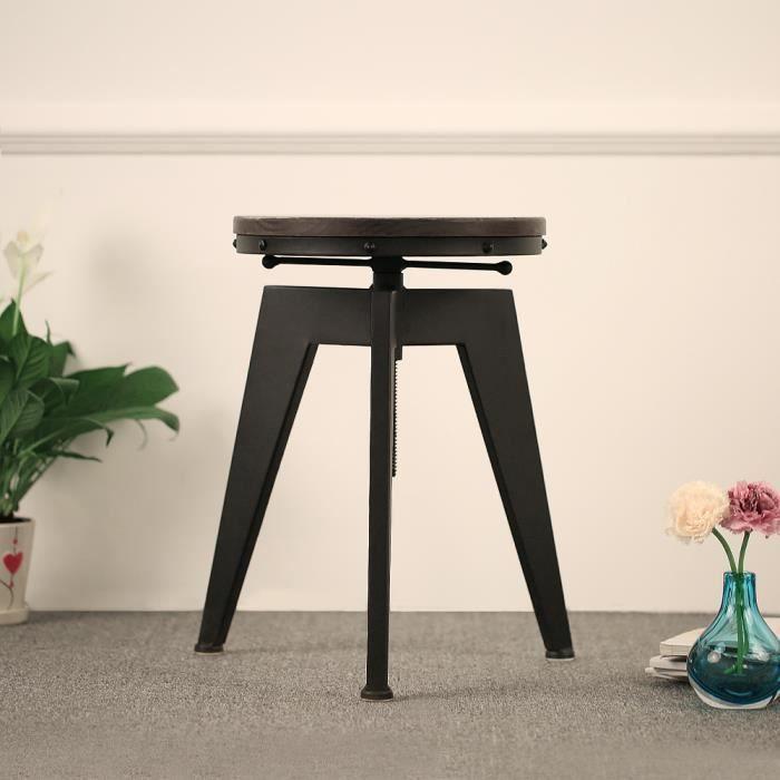 CHAISE KAYAA Chaise Haute ajustable en bois pin naturel pour cuisine