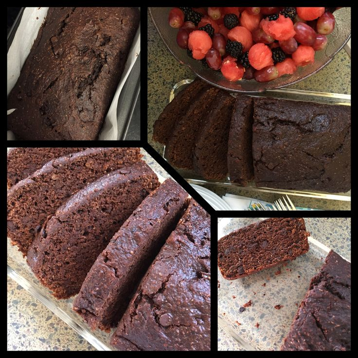 Double Chocolate Loaf  Delicious and healthy!! Special ingredient is pureed pumpkin!! #chocolate #vegan #healthy #baking #pumpkin #sharicreates