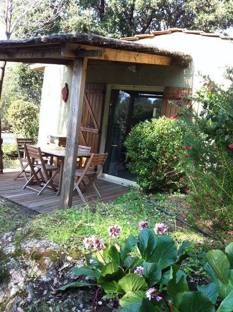 Location vacances maison Porto-Vecchio: la terrasse