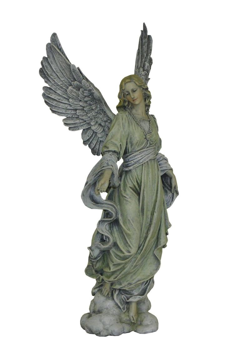amazoncom accents u0026 occasions angel statue 16inch tall