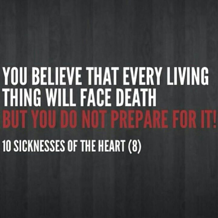 Sickness of the heart 8