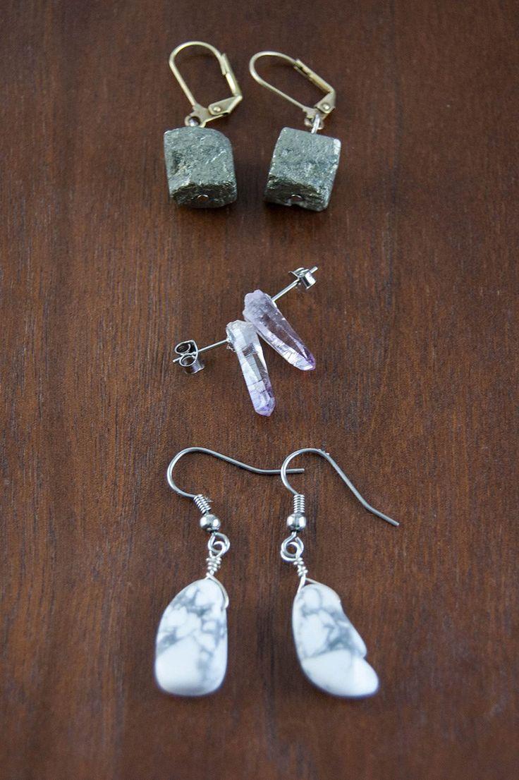best 25+ diy crystal earrings ideas on pinterest | anthropologie