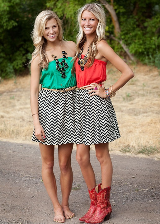 Coral ZigZag Chevron Belted Dress. 17 Best images about Twin day on Pinterest   Disney characters