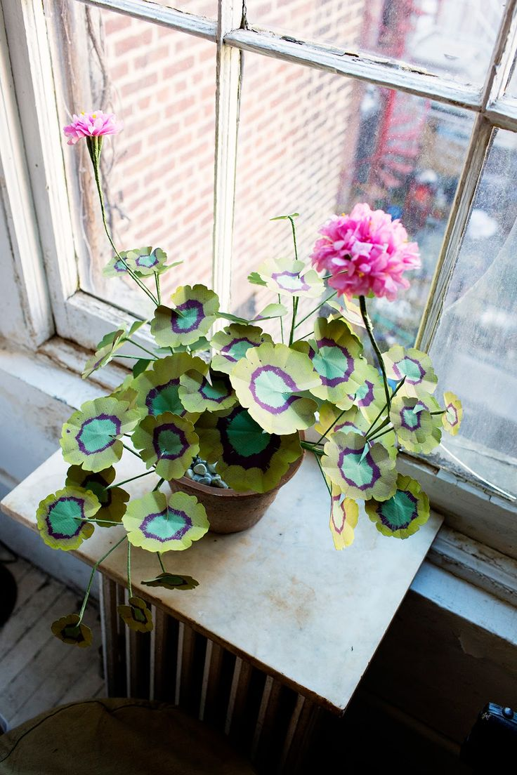john derian at home via the selby - Flowering House Plants Purple