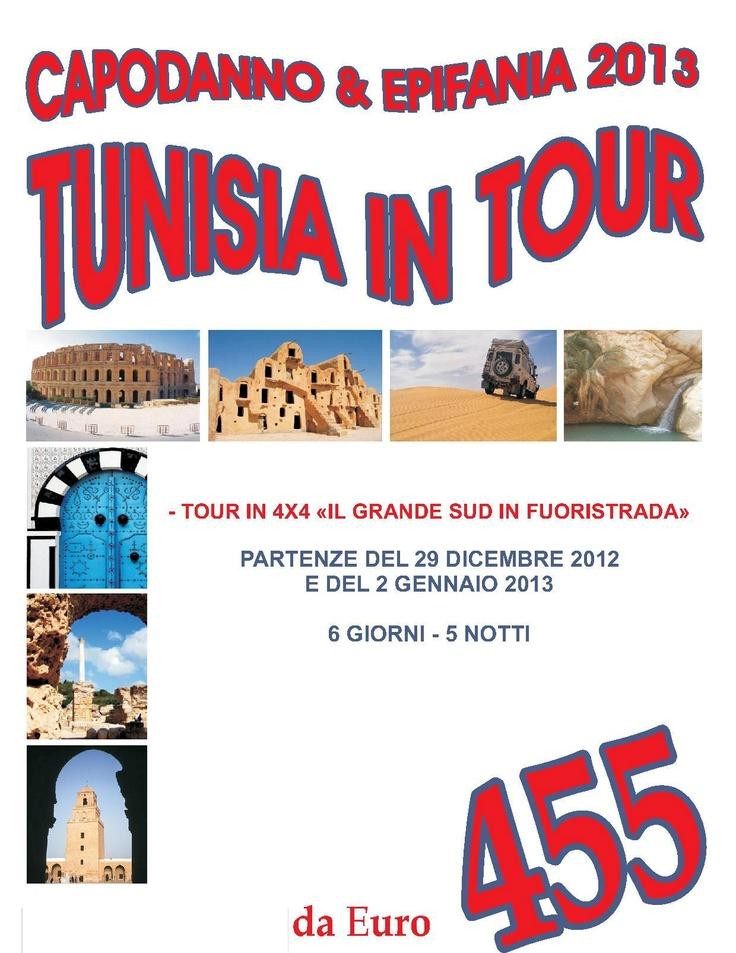 Epifania e Capodanno in Tunisia Tour in 4x4 partenza da Cagliari