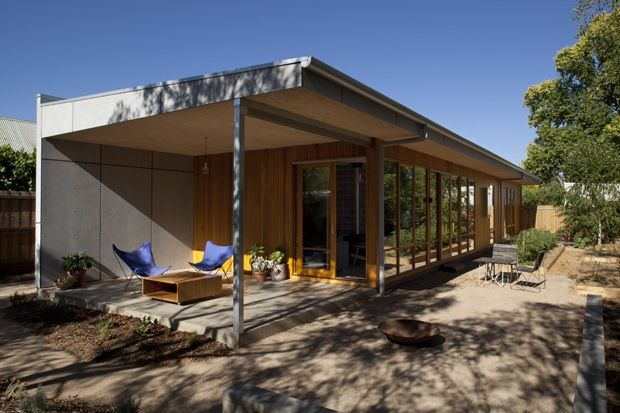 Sustainable home / low carbon footprint and natural