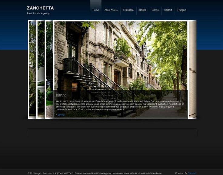 See the full website at www.zanchetta.ca