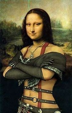 You go rock n roll mona you go girl mona lisa for Can you buy the mona lisa