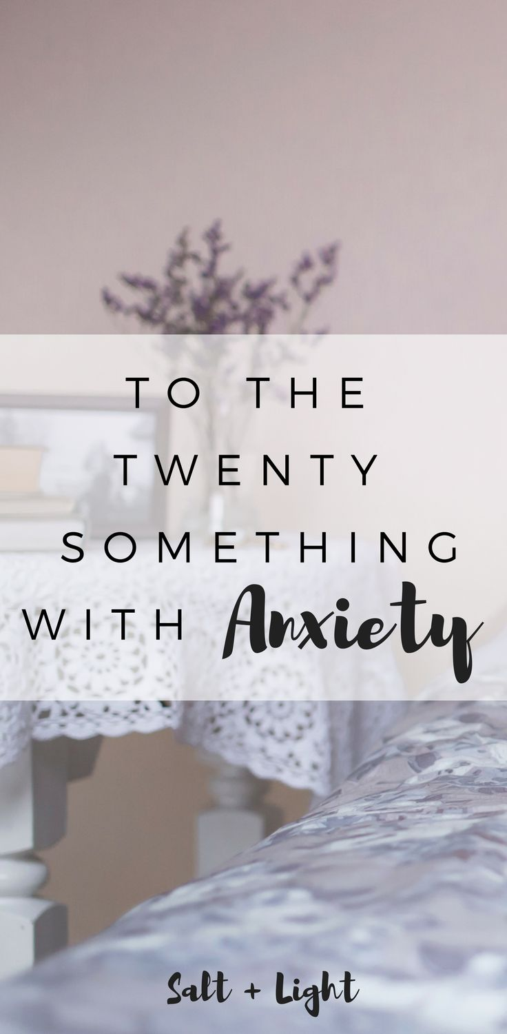 Are you a twenty-something struggling with anxiety or depression? I want you to know that you are more and you are not alone.