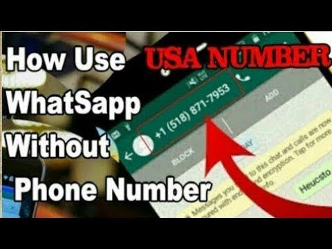 How To Use Whatsapp Without Phone Number ( No Sim Card