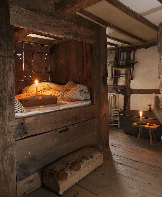 71 best Primitive/Rustic/Farmhouse/Vintage Bedroom Ideas ...