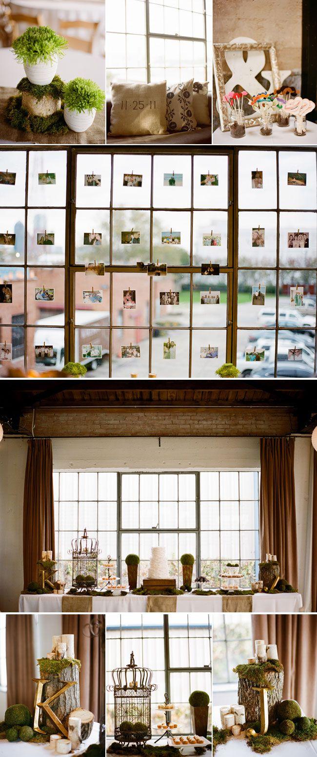 The photo window is just amazing! - Real Wedding: Kristin and Joseph's Wedding
