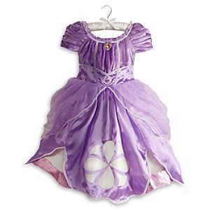 Disney Sofia Costume for Girls | Disney StoreSofia Costume for Girls - Just like Sofia, your little one will feel like a princess in this regal costume. Layers of satin and tulle, detailed with glitter and iridescent embroidered trim, will provide a lesson in style for your princess in training.