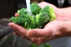 Le lavage des fruits et des légumes