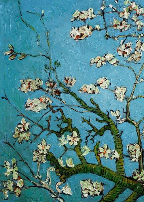 Vincent van Gogh - Almond Blossoms (detail), 1888-90