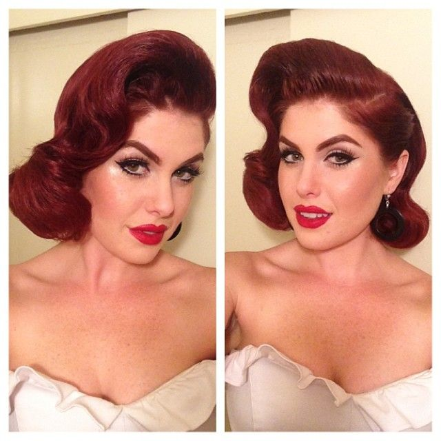 Doris Mayday, hair by His Vintage Touch