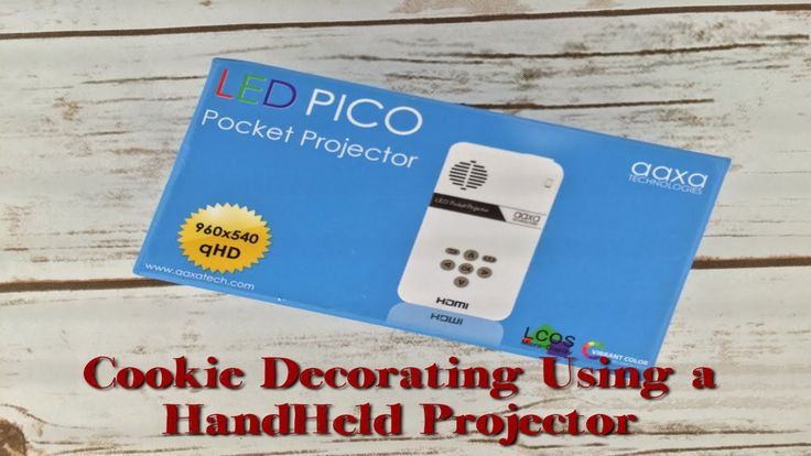 This video shows you all you need to project images on your cookies when decorating using a handheld projector as well as how to hook it up to any of the App...