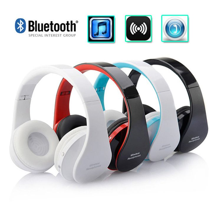2017 Top sale 1pc Wireless Bluetooth Earphone Stereo Foldable Headset for MP3/MP4 For Cell Phone Bluetooth 3.0 Hidden microphone