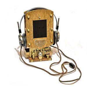 Dan Aetherman's Steampunk Kunst, Erfindungen, Gadgets, Requisiten und Movie Props - Schweiz