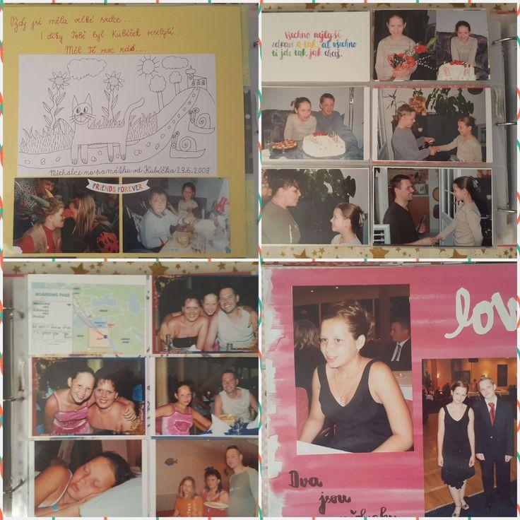 Jana Keblová - scrapbooková alba pro děti