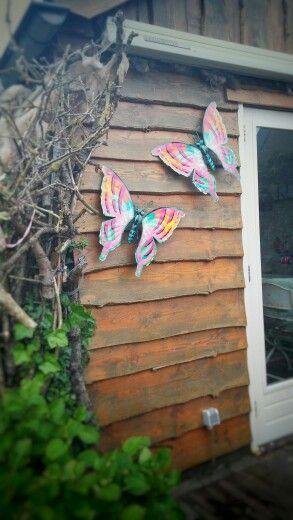 Vlinders tuinvlinders muurvlinders tuindecoratie 10 handpicked ideas to discover in home decor - Terras tuin decoratie ...