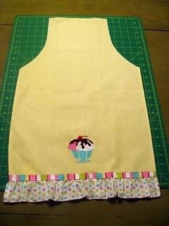 Shortcut dish towel apron. Love it!