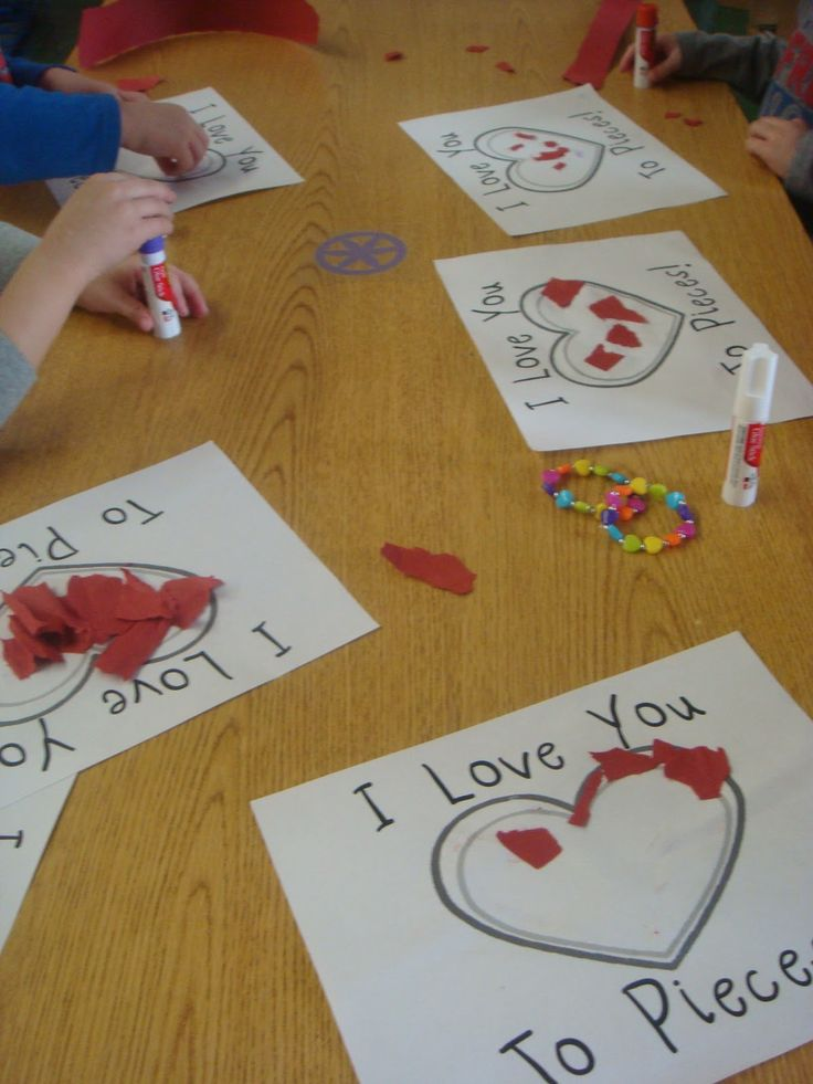 Parent's Valentines Gift--Behind the scenes: Mrs. Gloudemans' Class: Valentines