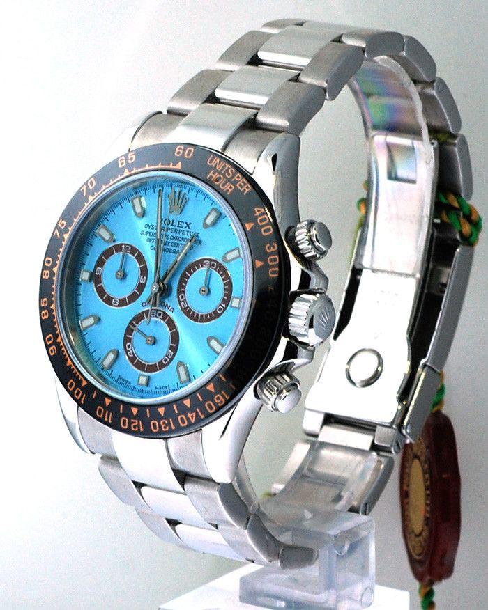Rolex Daytona Steel Platinum Face / Black Ceramic Bezel | Limited Watches | Buy New & Used Rolex Watches