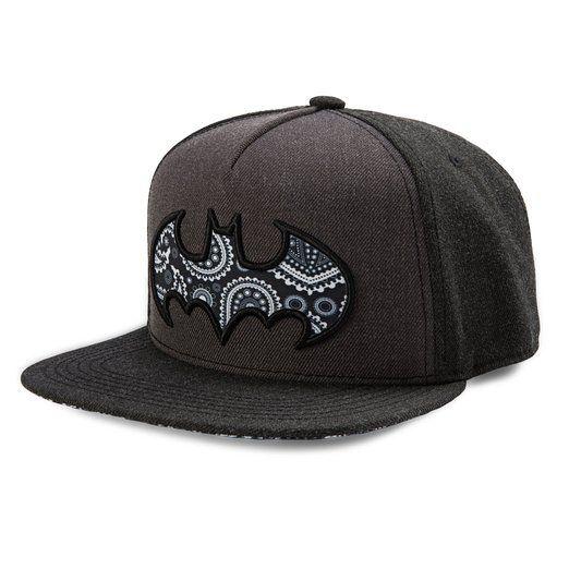 DC Comics Batman Paisley Bat Logo Snapback Baseball Cap