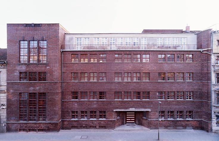 School to multi floor restaurant/gallery/culture centre in Berlin in Mitte District