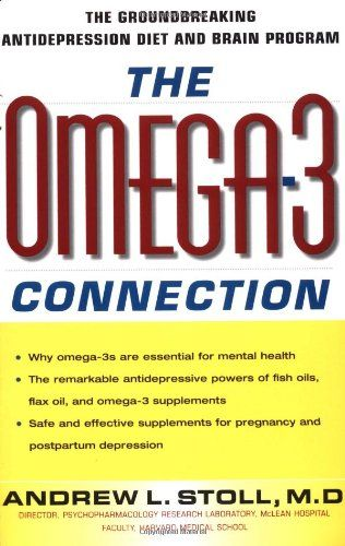 The Omega-3 Connection: The Groundbreaking Antidepression Diet and Brain Program by Andrew Stoll http://www.amazon.com/dp/0684871394/ref=cm_sw_r_pi_dp_uDTdwb1VMF96Z