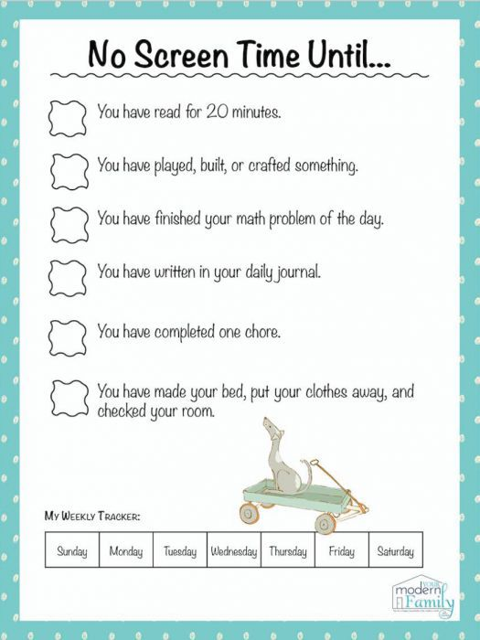 no screentime until printable  parenting  noscreentime