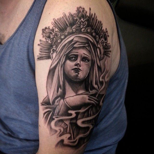 Tattoo Designs Mama Mary: 25+ Unique Virgin Mary Tattoos Ideas On Pinterest