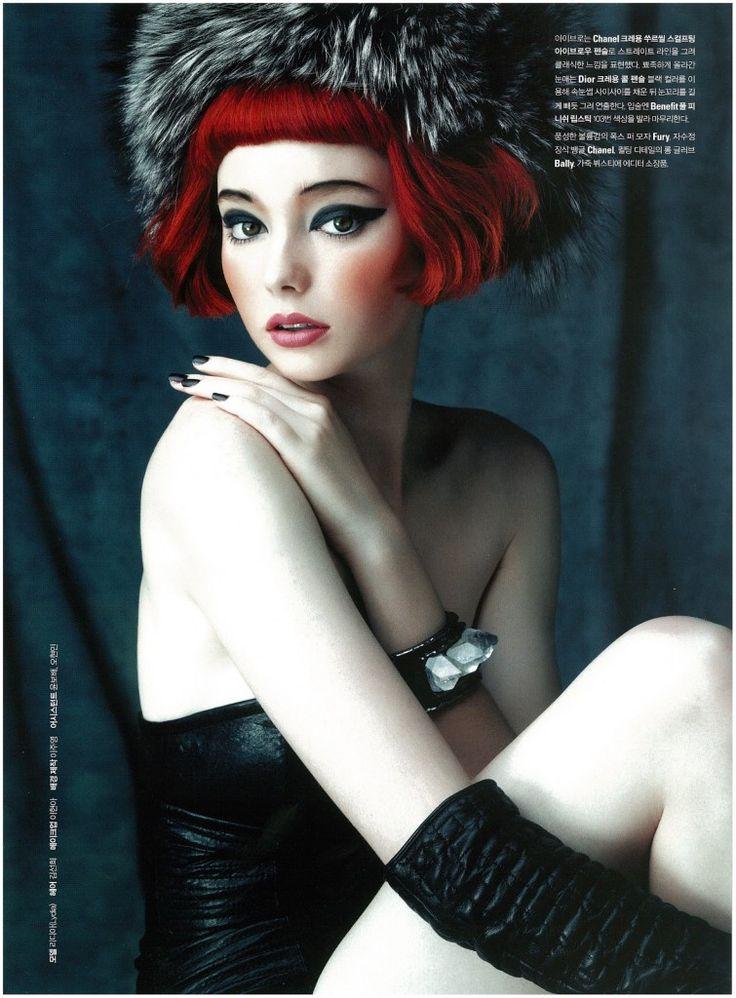 Lydia Hunt Noblesse  beauty spread November 2012 4