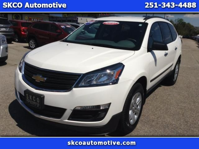 Used 2015 Chevrolet Traverse LS FWD w/PDC for Sale in Mobile AL 36608 SKCO Automotive