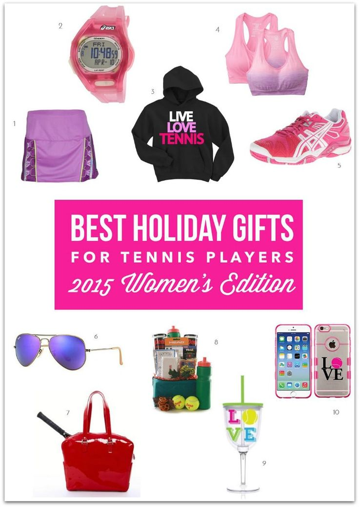 Wonderful Top Holiday Gifts For Women Part - 13: Best Holiday Gifts For Tennis Players - 2015 Gift Guide For Women Players