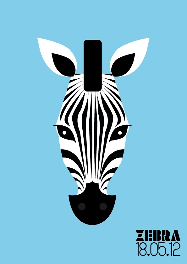 Zebra. Illustration personnelle.