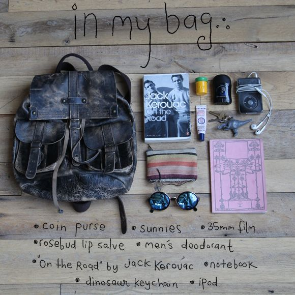 "What's Inside Our ""Going Out"" Bags"