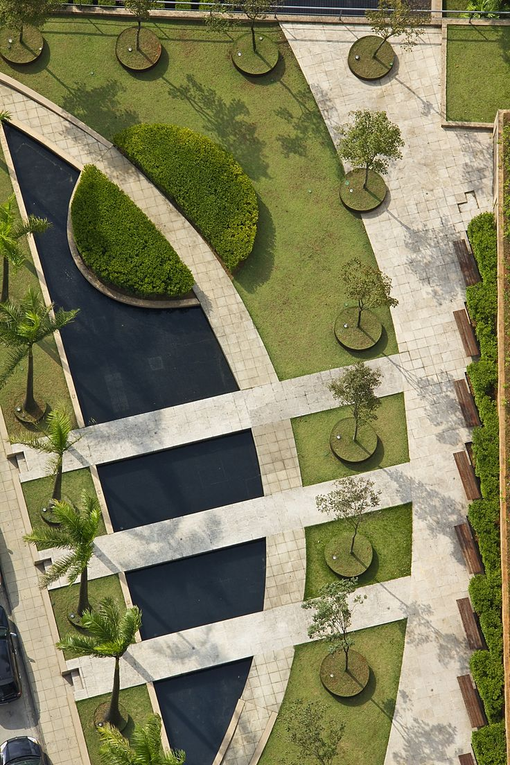 find this pin and more on landscape architecture - Minimalist Landscape Architecture