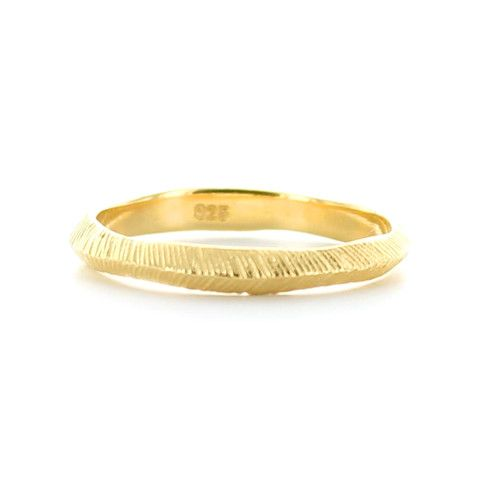 BRAVE STACKING RING & PENDANT GOLD – So Pretty Cara Cotter