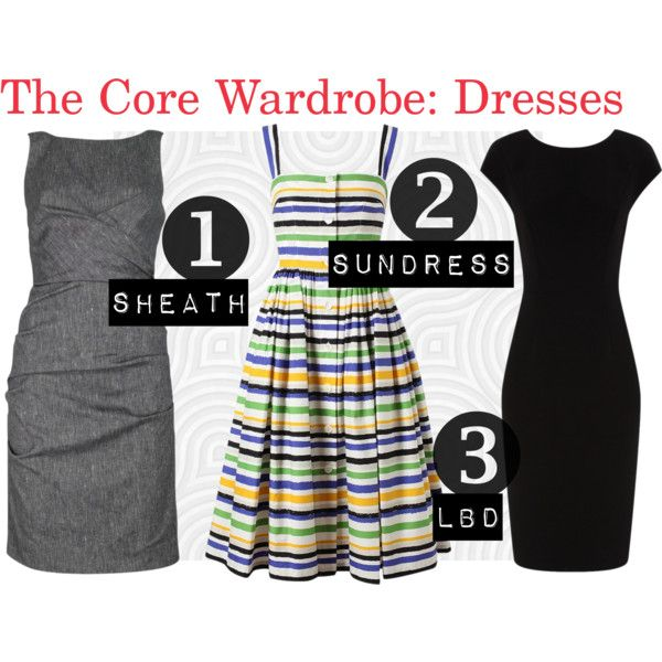 The Core Wardrobe for dresses includes 3 types of dresses you can wear for any Working Mom Outfit Level, from weekends to Date Nights. [http://www.franticbutfabulous.com/2013/05/14/the-core-wardrobe-essential-dresses-for-every-occasion/?utm_medium=social_media_campaign=FBFsocial]