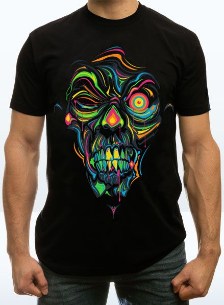 Neon and Zombies, so hot right now.