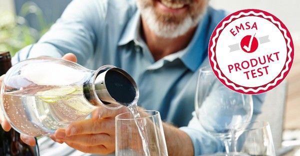 Bewirb dich, werde 1 von 60 Testern und stelle deine Kühlkaraffe auf die Probe! - https://produkttest.emsa.com/?view=social&type=test&id=221